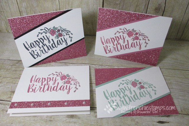 Big on birthdays, Stampin'Up!, Sale a Bration Glimmer paper