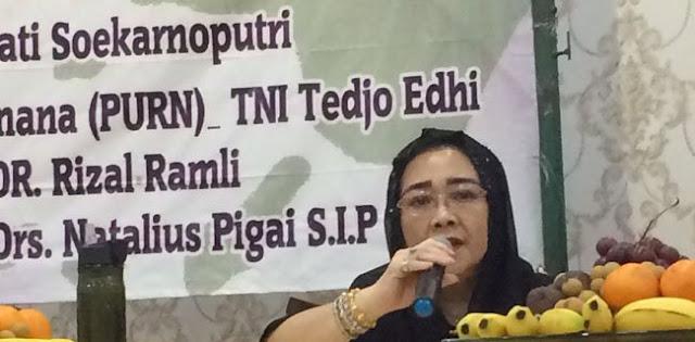 Rachmawati: 'Bonggol' Kasus BLBI Di Inpres Megawati!
