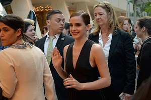 Emma Watson introduced New York with the elite of society