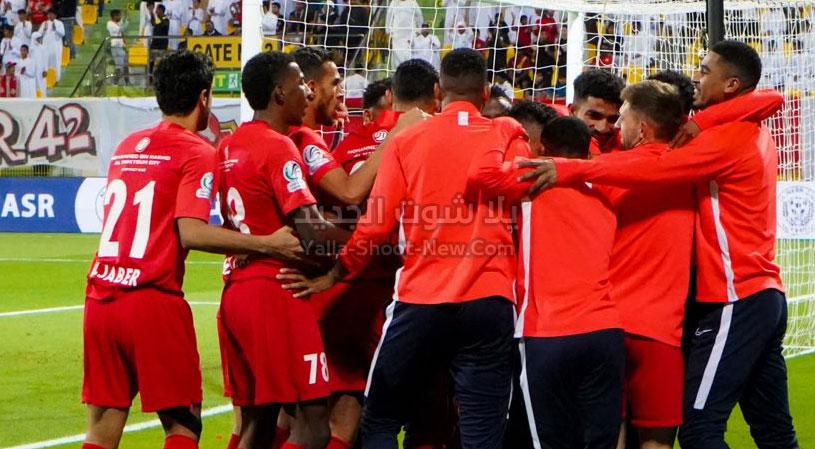 شباب الأهلي يقلب الطاولة على نادي العين ويحقق فوز مثير في دوري الخليج العربي الاماراتي