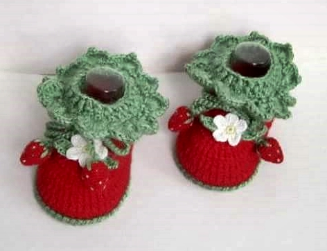 wzory botów na drutach