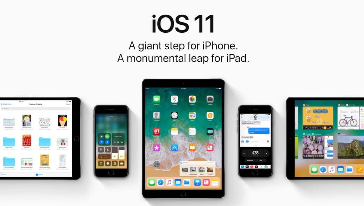 Apple releases iOS 11 beta 6 for registered developers and is available for download