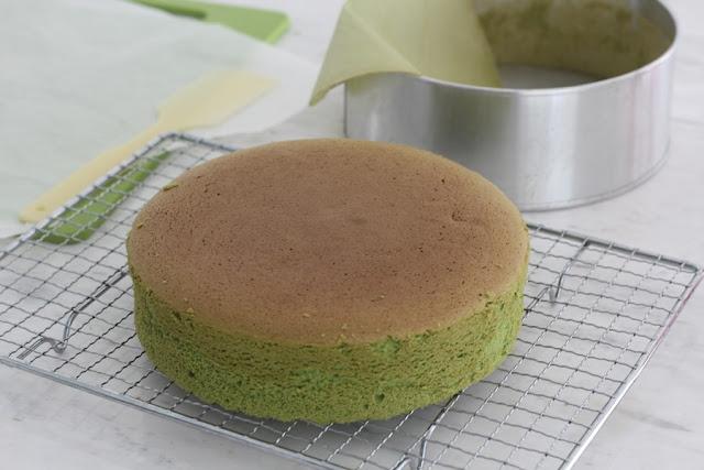Decorated Sponge Cake Roll Happy Birthday