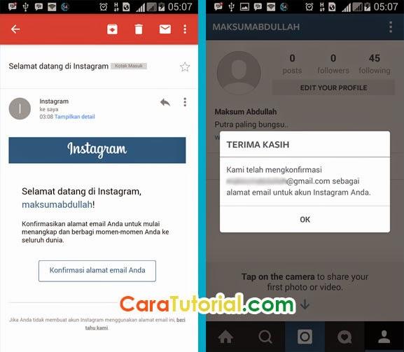 Cara Membuat Akun Instagram ID di Android