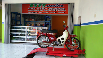 bengkel motor kendal semarang