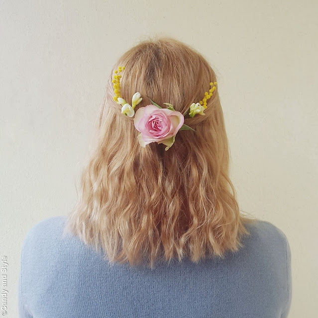Floral Hair | Candy and Style