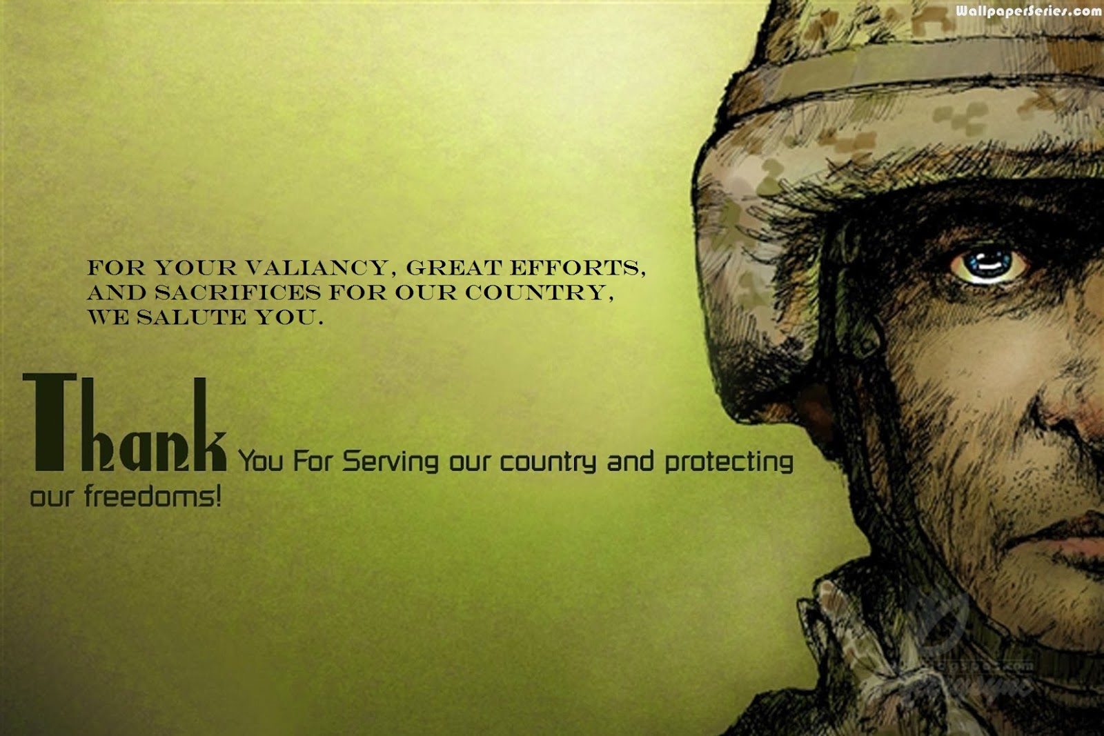 veterans quotes of appreciation