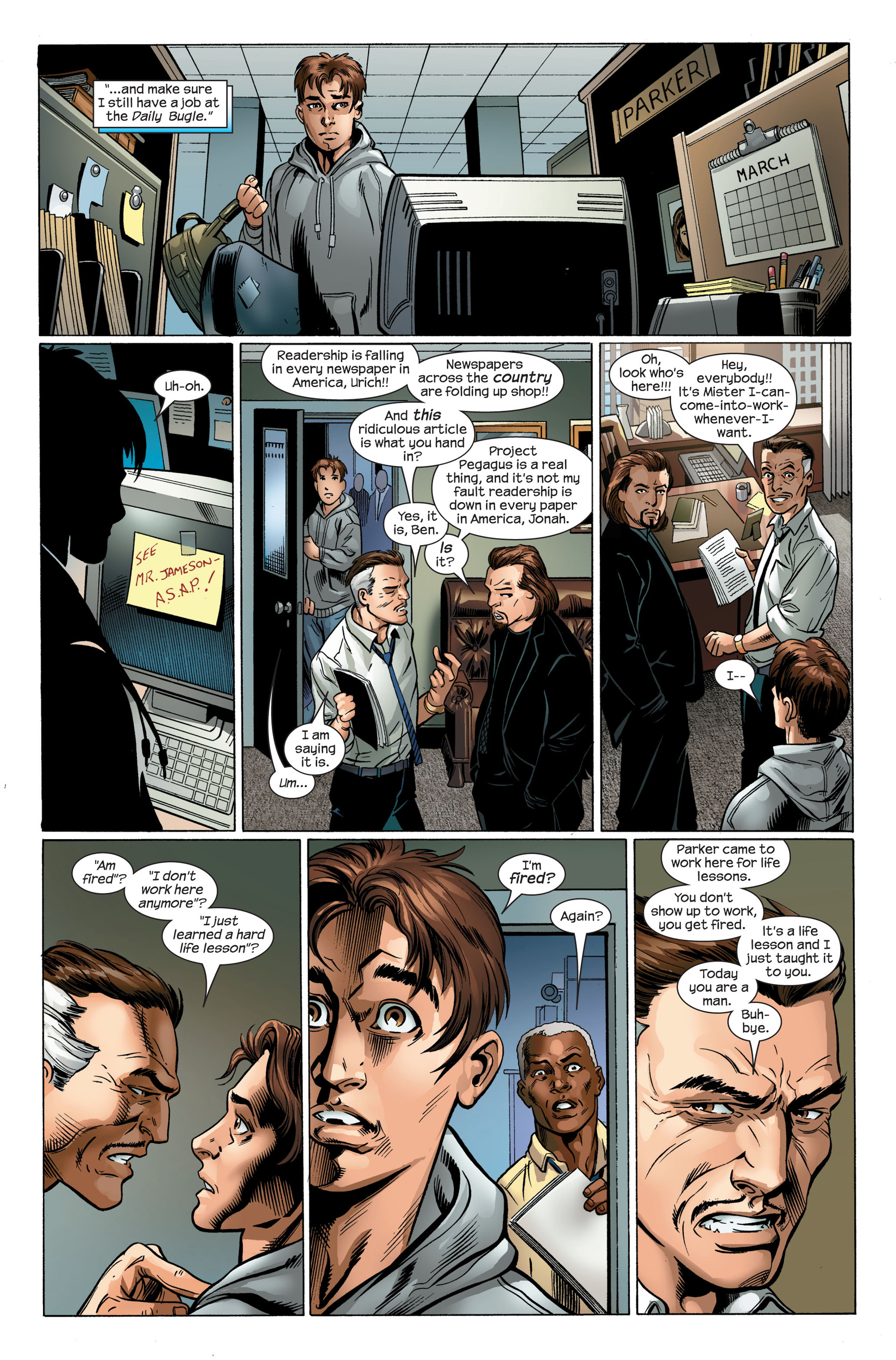 Read online Ultimate Spider-Man (2000) comic -  Issue #106 - 9