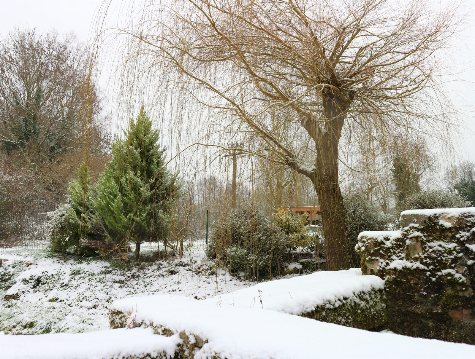 Heather Townsend/Suncream and Sparkles/Snowing in France