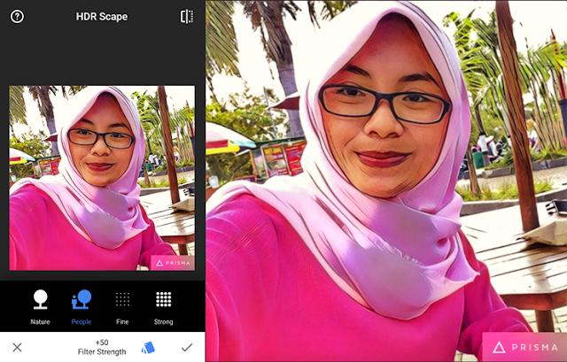 Padukan editor Prisma Dengan Aplikasi Edit Foto Lain