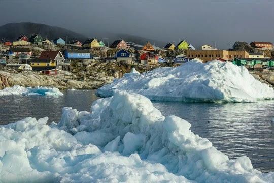 Hilangnya Lapisan Es Greenland Picu 40 Persen Kenaikan Permukaan Laut