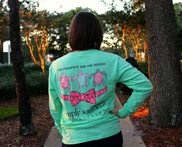 go preppy or go home simply southern shirt