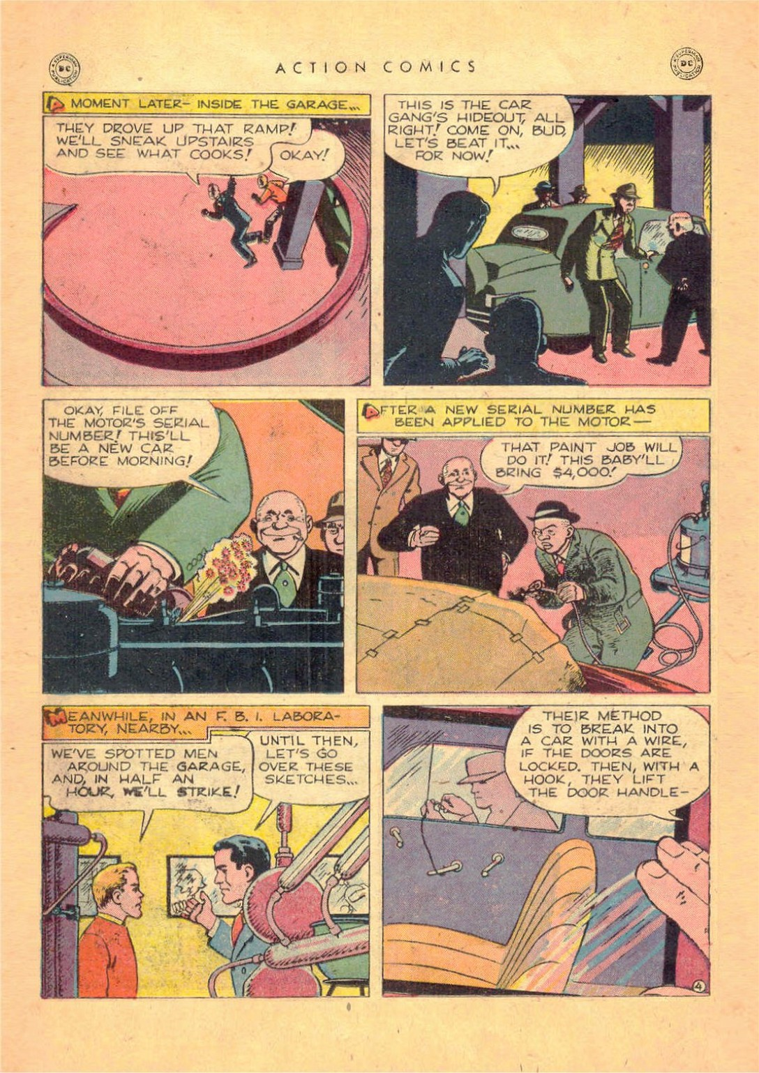 Read online Action Comics (1938) comic -  Issue #124 - 20