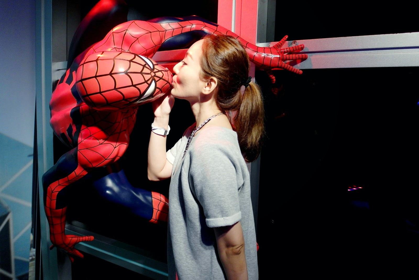 Spiderman Mary Jane Kiss Scene