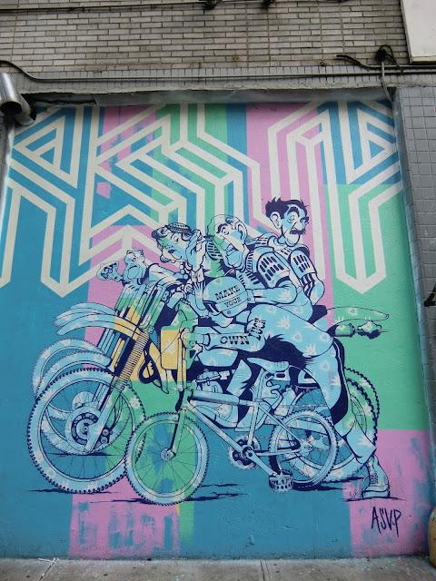 Street view of soho in manhattan - new-york