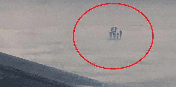 Φωτογραφία με 4 υπερφυσικές φιγούρες στα σύννεφα κατά τη διάρκεια μιας πτήσης προς το Λονδίνο!