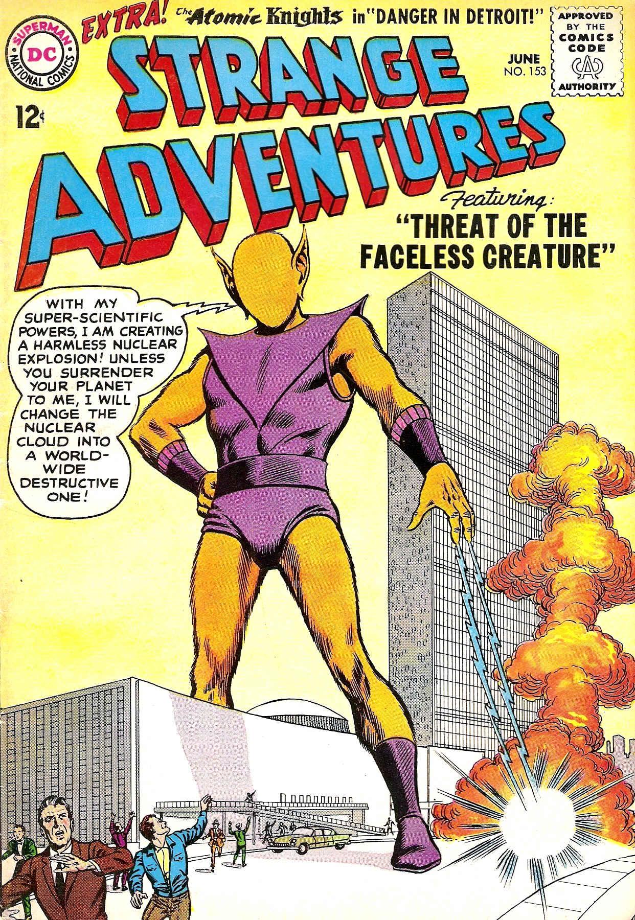 Strange Adventures (1950) issue 153 - Page 1