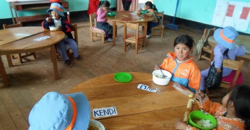 QALI WARMA: Programa social garantiza entrega del servicio alimentario en Huancavelica - www.qaliwarma.gob.pe