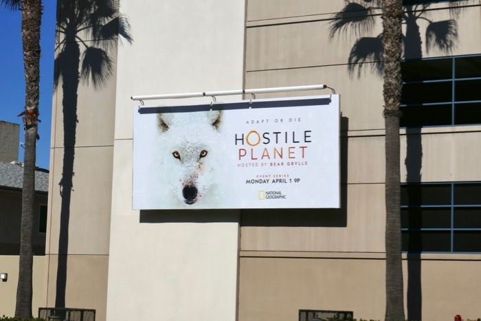 Hostile Planet series billboard