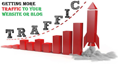 Getting More Traffic to Your Website or Blog