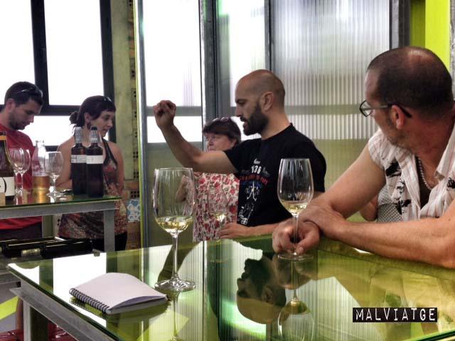 tast vins lagravera