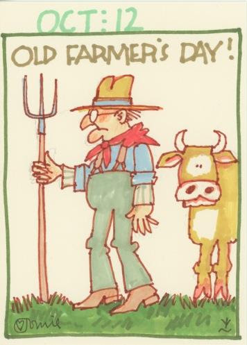 The Official Tomie dePaola Blog: Old Farmer's Day