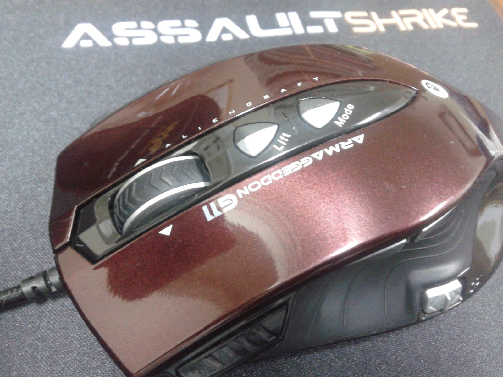 Unboxing & Review: Armaggeddon G11 Alien Craft Gaming Mouse 62