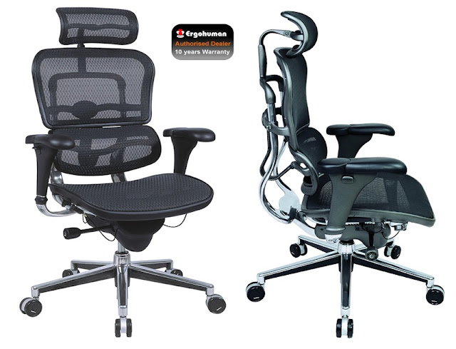 buy best ergonomic executive office chair with headrest for sale
