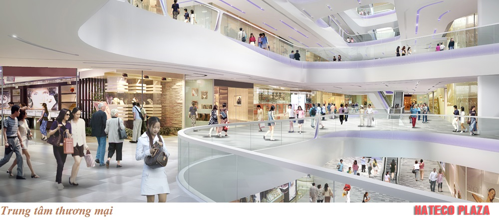 Trung tâm thương mại dự án Hateco Plaza Huỳnh Thúc Kháng