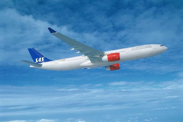 SAS flyrute til Miami