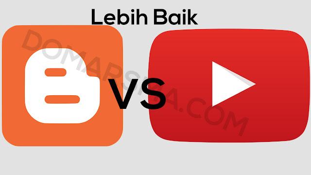 Lebih Besar atau Bagusan Penghasilan Youtube atau Blogger ?