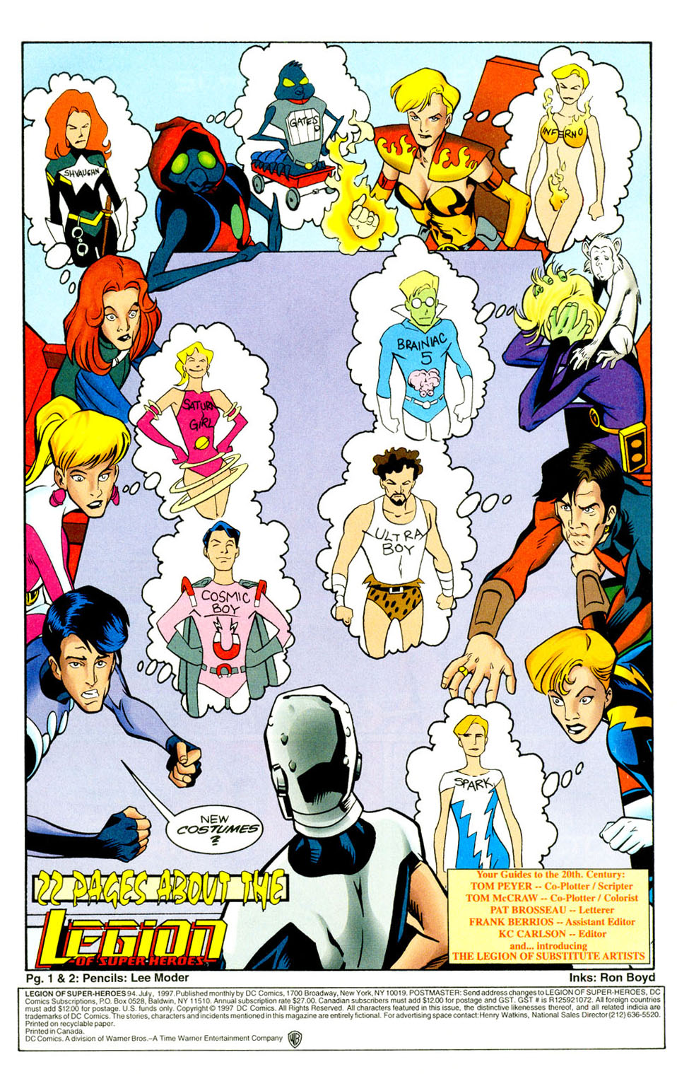 Legion of Super-Heroes (1989) 94 Page 2