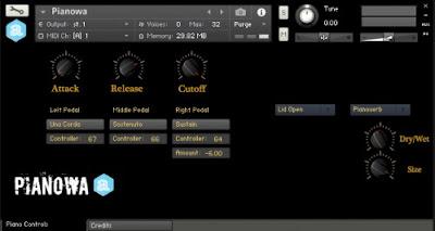 Download Pianowa for Kontakt – Free piano by Autodafe