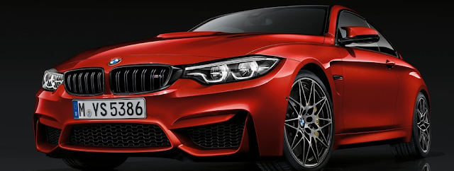 2018 BMW M4 Coupe Design