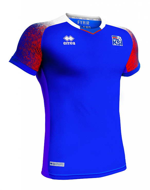 size 40 aeb9d 71462 Iceland 2018 World Cup Home and Away Kits Released - Footy ...