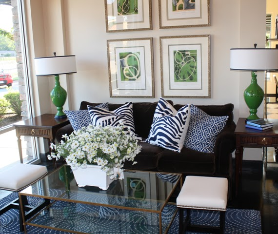 Eye For Design: Decorating With The Blue/Green Color