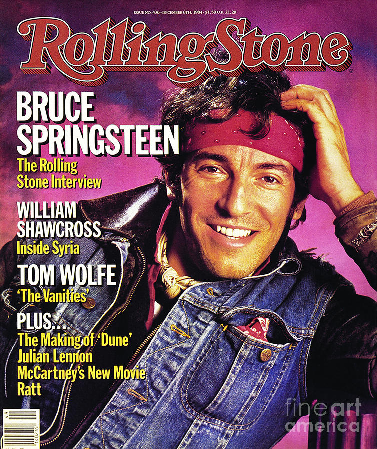 Rock On Vinyl Bruce Springsteen Born Again