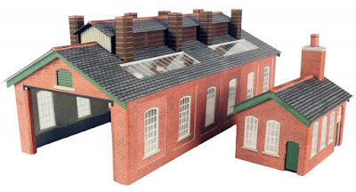 Two Track Engine Shed Kit from eBay