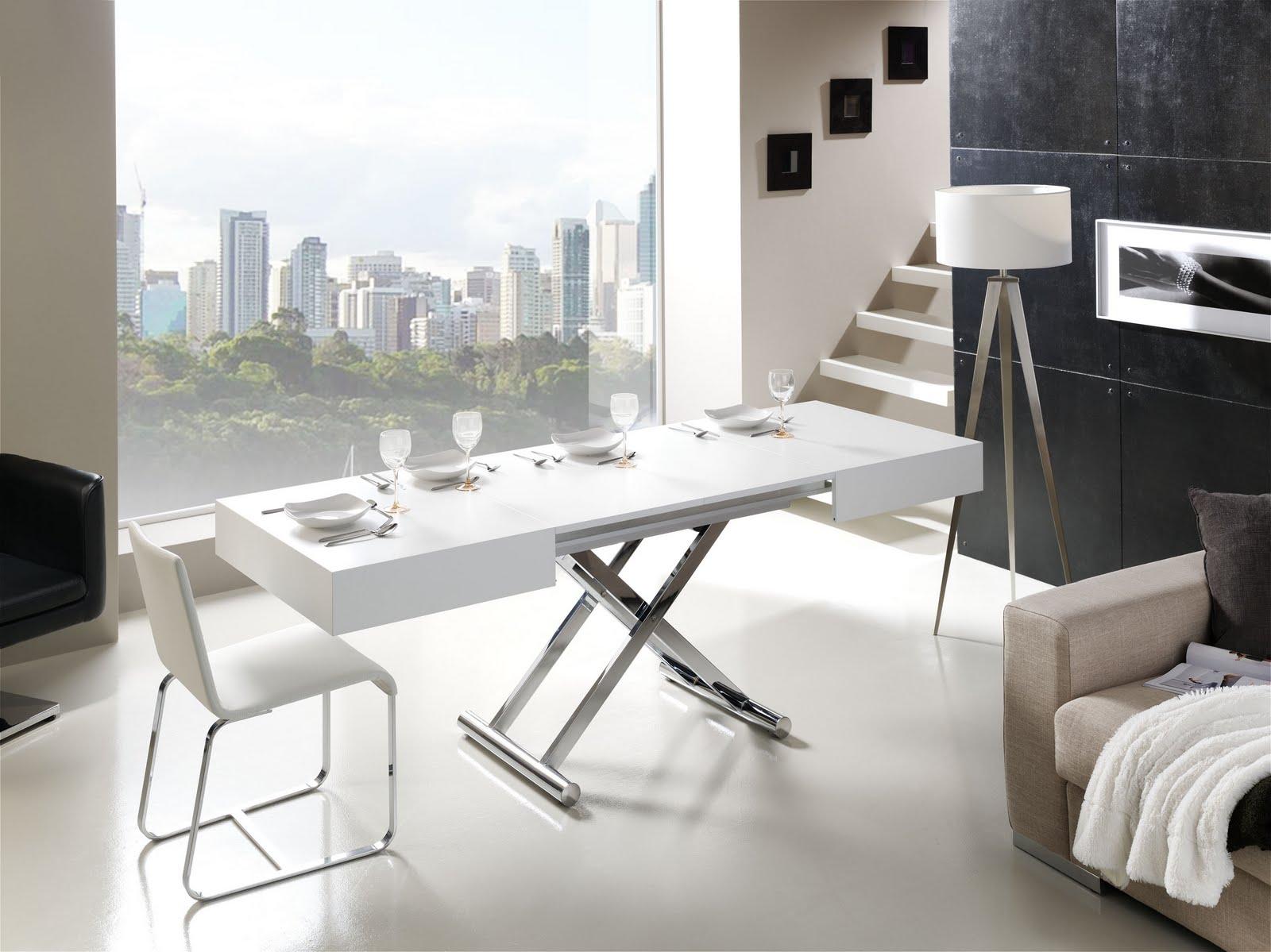 mesas de comedor plegables de diseño
