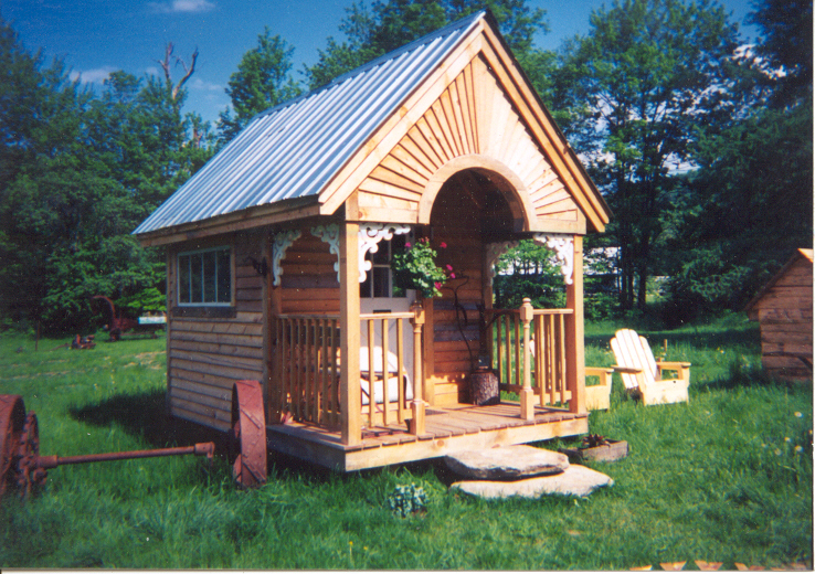 Tiny Victorian House Plans Small Cabins Tiny Houses Homes: Relaxshacks.com: The Jamaica Cottage Shop- TEN AWESOME