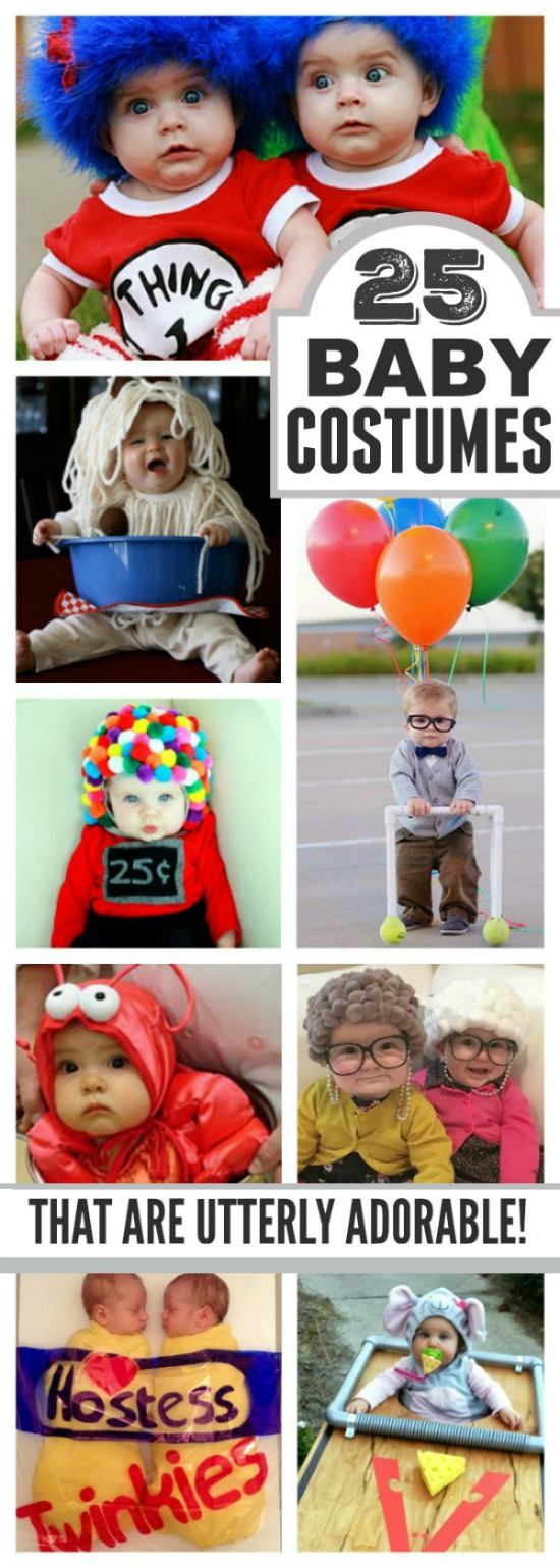 25 UTTERLY ADORABLE COSTUMES FOR BABY.  Some of these are borderline genius!  I love them all!