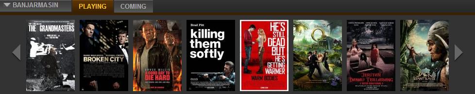inilah jadwal film yang ada di bioskop 21 hari rabu tanggal 13 maret 2017 banjarmasin