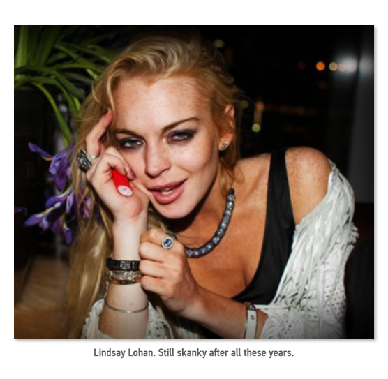 Lindsay lohan getting fucked talk