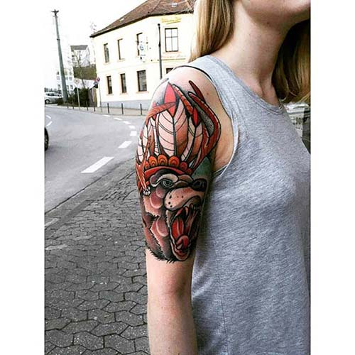 kadın kol dövmeleri arm tattoo for woman 71