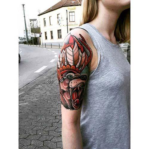 kadın kol dövmeleri arm tattoo for woman 71