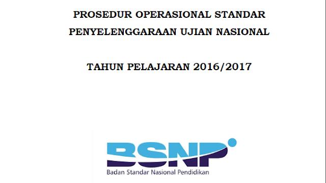 POS UN 2017 Untuk SMP/MTS,SMA/SMA Dari BSNP Kemdikbud