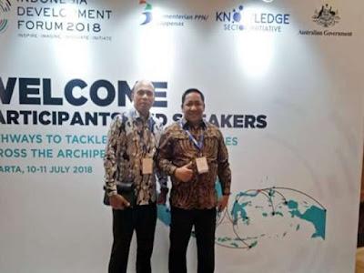 Aliong Mus Hadiri Rakornas dan Evaluasi P3MD di Jakarta