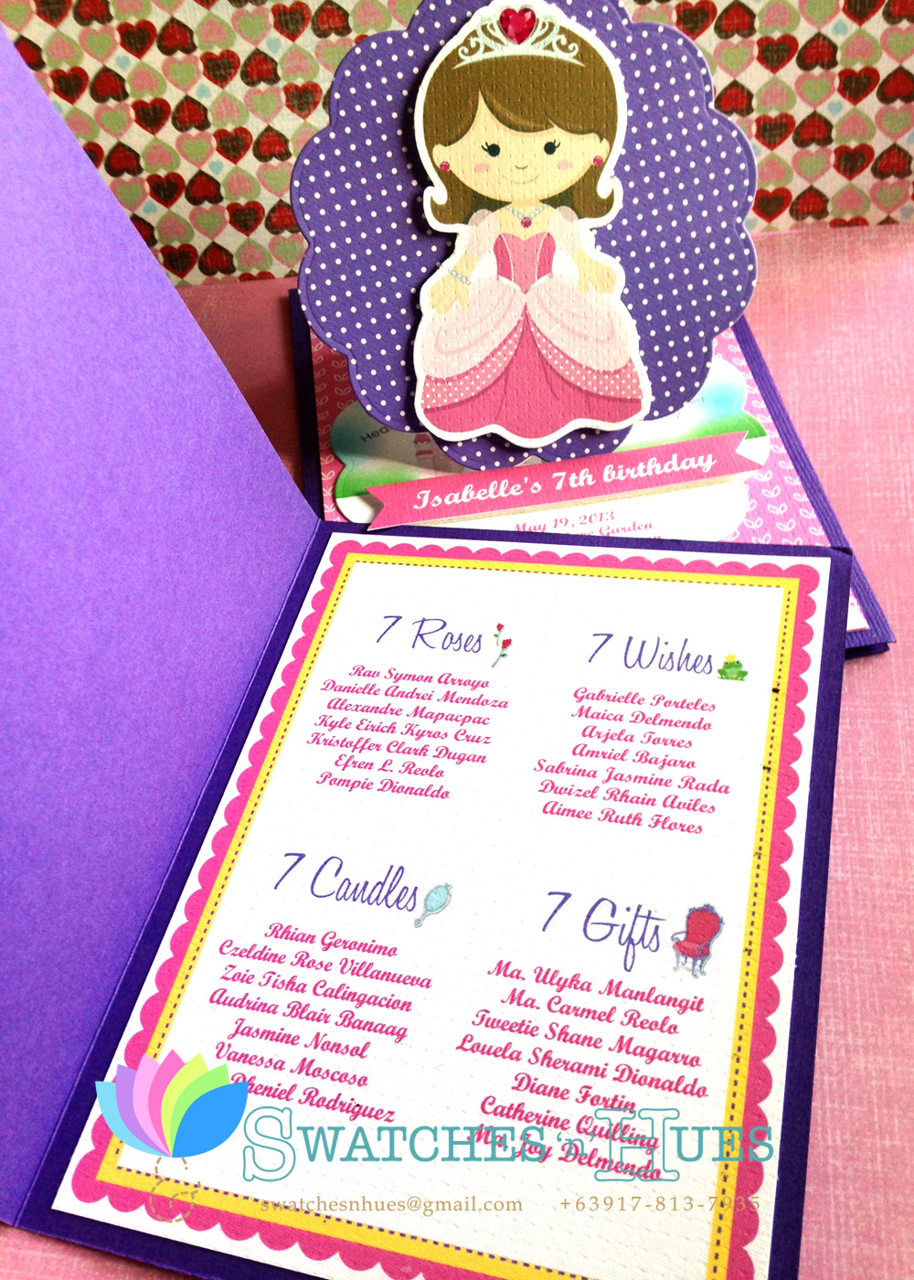 Princess Themed Birthday Party Invitation Wording