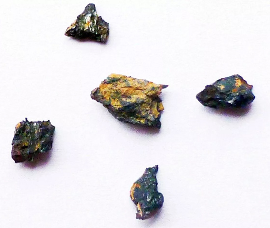 Meteorito Hepátia encontrado Egito