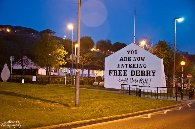 Roadtrip en Irlande du Nord - Derry
